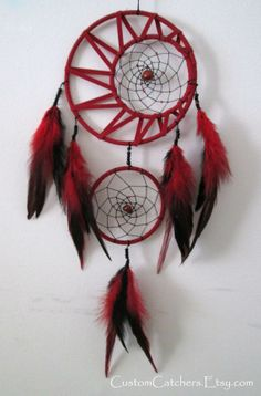 Crescent Moon Dreamcatcher - Custom Dreamcatcher - Native American Art - Home Decor - Unique Gift - Pagan Dreamcatcher - New Age Art