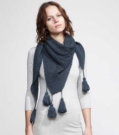 WOOL AND THE GANG 【CAST AWAY SCARF】