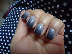 white grey blk ombre
