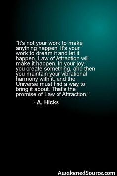For more information about Law Of Attraction visit: http://awakenedsource.com