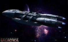Battlestar Galactica Ships | Battlestar Galactica Wallpaper by ~ Tifron