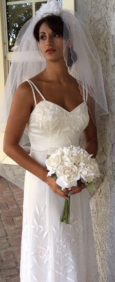 Lace Wedding Dress Glamour Hollywood style by ElenaCollectionUSA