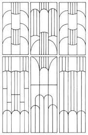 Image result for art deco patterns black and white