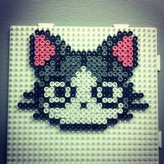 Chi cat hama beads by raoyl83