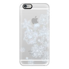 iPhone 6 Plus/6/5/5s/5c Case - Silver snow (53 CAD) ❤ liked on Polyvore featuring accessories, tech accessories, phone, phone cases, electronics, cases, iphone case, iphone cover case, apple iphone cases and slim iphone case