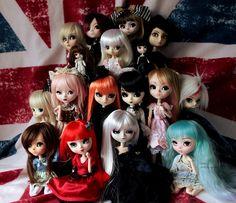 My Pullip Family dolls Halloween Face Makeup, Kitty, Dolls, Anime, Pictures, Art, Photos, Kitten, Kitty Cats