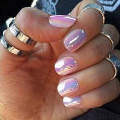 Pearl nail polish #nails #polish #prettymani- bellashoot.com