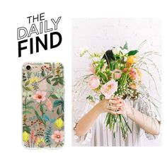 """""""The Daily Find: Rifle Paper Co. Phone Case"""" by polyvore-editorial ❤ liked on Polyvore featuring Rifle Paper Co and DailyFind"""