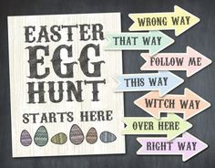 Instant Download Wooden Rustic Easter Egg Hunt by Print4Yourself Easter Egg Hunt Games, Party Printables, Easter Eggs, Invitations, Rustic, Things To Sell, Country Primitive, Rustic Feel, Retro