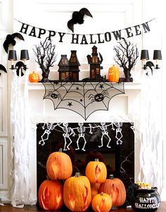 Spooktacular Shelfies: 7 Ways to Dress Up Your Mantle for Halloween