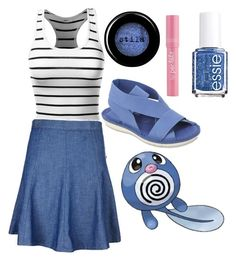 """Poliwag"" by tempermental-teen ❤ liked on Polyvore featuring J.TOMSON, rag & bone/JEAN, NoSoX, Stila, Essie and Per-fékt Beauty"