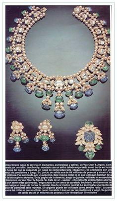 Les bijoux vendus par la princesse Salima Aga Khan