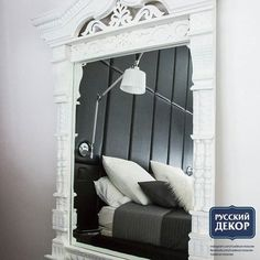 ЗЕРКАЛО ИЗ СТАРИННОГО НАЛИЧНИКА⠀ еще зеркала www.rusdecor.moscow⠀