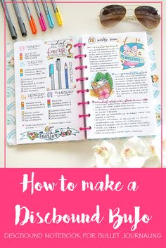 How to make a Discbound BuJo
