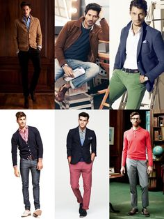 Mens Smart-Casual Inspired Lookbook