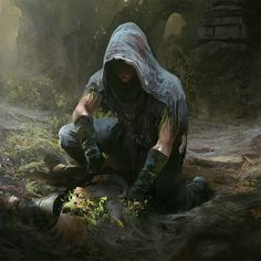 """""""I think this would be an amazing peace of art for the ranger's apprentice books. Dark Fantasy, Fantasy Rpg, Medieval Fantasy, Fantasy Artwork, Fantasy World, Fantasy Character Design, Character Concept, Character Inspiration, Character Art"""