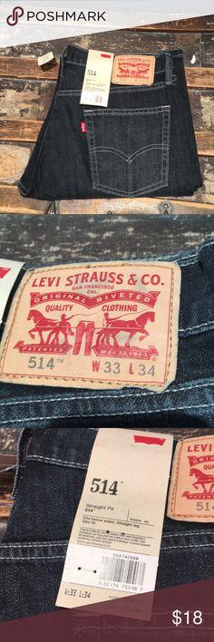 Levi's jeans Brand new men's Levi's. Black wash. 34 L. Levis Jeans Straight
