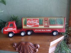 Metal Buddy L Coca Cola Delivery Truck, Buddy L Made in Japan Collectible Truck