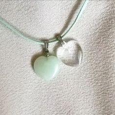 Jade & rock crystal #harmony #stones