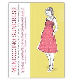 heatherross - download Mendocino Sundress pattern - Free Dress Pattern Download for MendocinoFabrics!