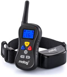 MDOG2 MD2-008 Wireless Dog Remote Training Collar with Shock, Vibration and Tone