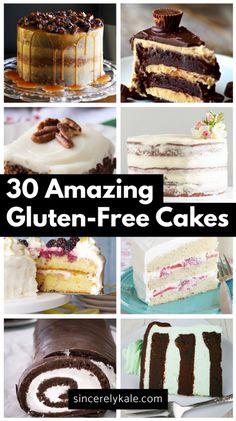 30 Amazing Gluten Free Cake Recipes