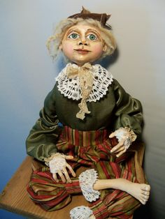 My newest Cloth and Clay doll
