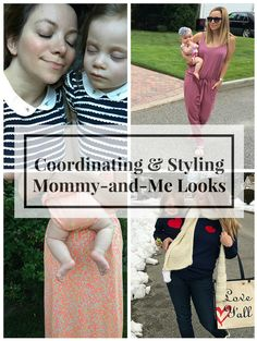 Mommy-and-Me Style: 5 Ways to Coordinate Your Looks | Mom Fashion | Kids Fashion | MomTrends.com
