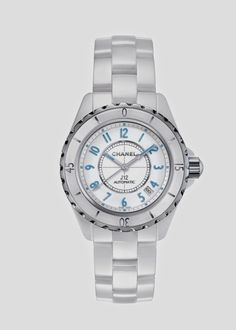87259d5d09c Montre Chanel J12 Blue Light 38mm H3827 Relógio Chanel