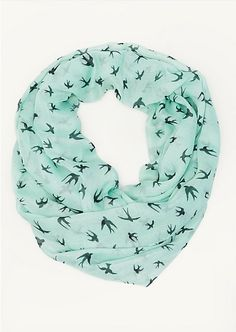 Freewheeling Birds Infinity Scarf | Scarves | rue21 on Wanelo