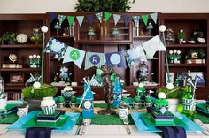Golf themed party ideas for Father's day or a boy's birthday