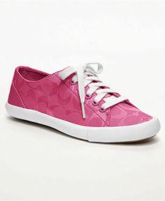 Pink coach sneaker