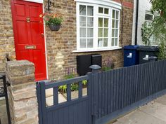 Two small patio and lawn gardens are uplifted with contemporary border boxes, while a narrow front garden gets a complete facelift Next Garden, Lawn And Garden, L Shaped Beds, Garden Solutions, Garden Makeover, Evergreen Shrubs, Ornamental Grasses, West London, Small Patio