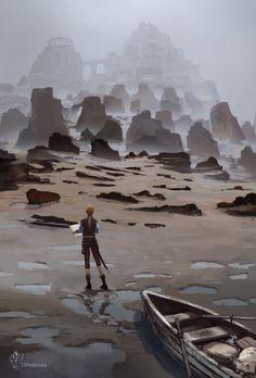 Strange Shores by jjpeabody
