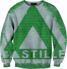 Bastille Sweater Crewneck Sweatshirt by YeahWhateverz on Etsy, $59.87
