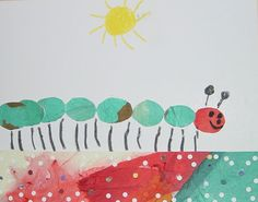 Eric Carle Art Project