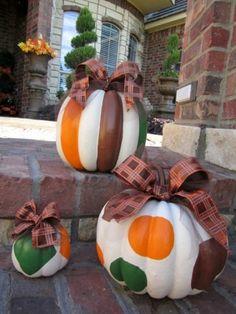 Fall pumpkins by Mariahope