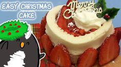 Pengulin makes a sweet Christmas cake in the microwave!