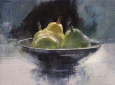 Small Bowl of Pears - Douglas Fryer