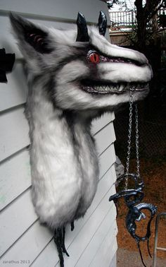 This is another photo of the dragon animatronic puppet that shows more of the body. Once I finish it I'll be sure to post pics, and even a link to video if I'm feeling inspired.