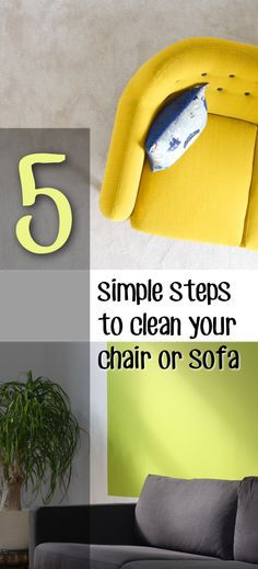 5 Simple Steps To Clean Your Chair Or Sofa – Making DIY Fun