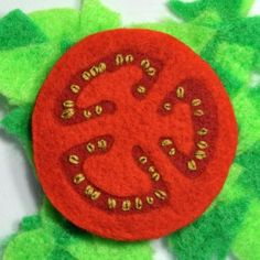 awesome felt tomato slice a must have for pizza and sandwiches