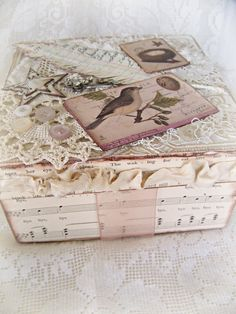 Vintage Style Altered Box