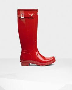 Buy Women's Original Tall Gloss Wellington Boots from the Official Hunter  Boot Site with Free UK Delivery* and Returns.