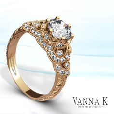 Pretty in Pink!  #VannaK #diamonds #engagement JH Faske Jewelers (979) 836-9282