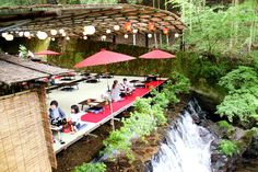 Dine Atop a Waterfall at These 'Kawadoko' Restaurants Hidden in Kyoto's Mountains