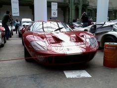 Ford GT 40. Tour Auto 2013 Paris.