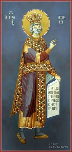 Προφήτης Δαβίδ 1033 ή 1077 - 993 ή 1037 π.Χ __Ειδικός υπολογισμός. Εορτάζει την Κυριακή μεταξύ 18 και 24 Δεκεμβρίου εκάστου έτους