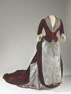 Caroline Harrison's Evening Gown | Flickr - Photo Sharing!