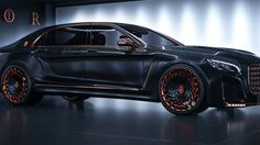 This Is The Most Obnoxious Luxury Car Ever...tricked out MB Maybeck